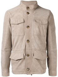 Eleventy Classic Field Jacket Nude Neutrals