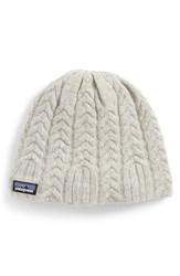 Patagonia Cable Beanie Grey Drifter Grey