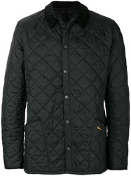 Barbour Heritage Liddesdale Quilted Jacket Cotton Polyamide S Black