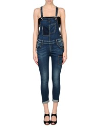 Fornarina Dungarees Trouser Dungarees Women Blue