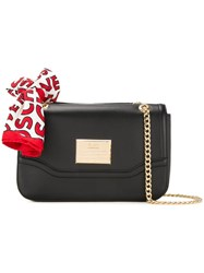 Love Moschino Flap Shoulder Bag Black