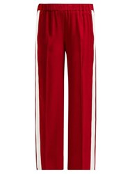 Elizabeth And James Kelly Striped Track Pants Red White