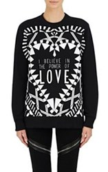 Givenchy Women's Power Of Love Sweatshirt Black