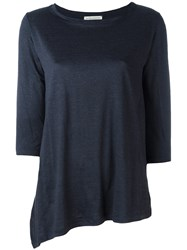 Stefano Mortari Asymmetric Top Blue
