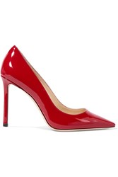 Jimmy Choo Romy Patent Leather Pumps Red