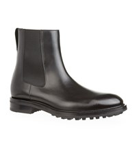 Tom Ford Leather Chelsea Boots Black