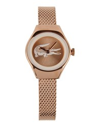 Lacoste Timepieces Wrist Watches Women Copper