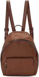 Stella Mccartney Brown Small Falabella Backpack