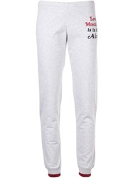 Love Moschino Is In The Air Track Pants Grey