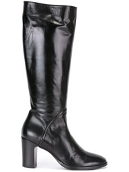 Silvano Sassetti Knee High Boots Black