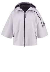 Adidas Performance Tracksuit Top White Black