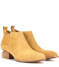 Alexander Wang Kori Leather Ankle Boots Brown