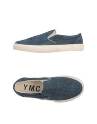 Ymc You Must Create Low Tops And Trainers Blue