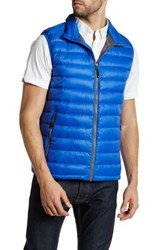 32 Degrees Sleeveless Quilted Vest Blue