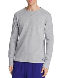 Y 3 3D Sweatshirt Medium Gray Heather