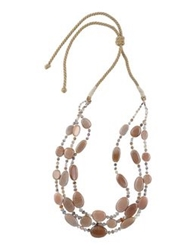 First People First Necklaces Light Brown