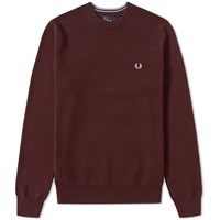 Fred Perry Textured Tuck Stitch Crew Sweat