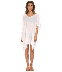 Seafolly Future Tribe Amnesia Kaftan Cover Up White Women's Swimwear