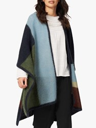 Brora Wool Mohair Blend Cape One Size Midnight