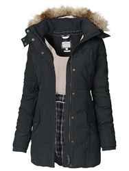 Fat Face Mawgan Long Padded Coat Phantom