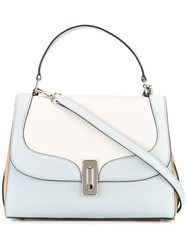 Marc Jacobs Tricolour West End Top Handle Ii Tote Grey