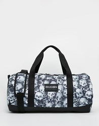 Religion Skull Duffle Bag Black