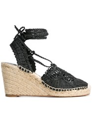 Paloma Barcelo Cordela Sandals Black