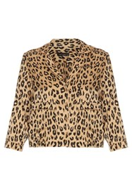 Equipment X Kate Moss Lake Silk Blouse Leopard