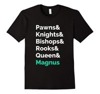 Amazon.Com Play Magnus Magnus Is King Ampersand T Shirt Clothing