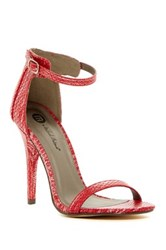 Michael Antonio Rumor Rep Open Toe Heel Red