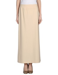 Pierantonio Gaspari Long Skirts Beige