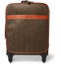 Mulberry Pebble Grain Leather Suitcase Green