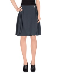 Harmont And Blaine Knee Length Skirts Lead