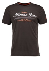 Mizuno Heritage Sports Shirt Black