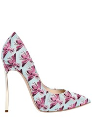 Casadei 120Mm Blade Bee Jacquard Pumps Multicolor