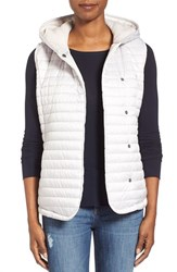 Women's Ugg Australia Outerwear 'Rene' Hooded Quilted Vest Moonrise