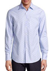 Salvatore Ferragamo Gancini Striped Shirt