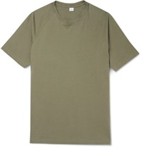 Aspesi Cotton Jersey T Shirt Green