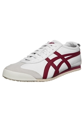 Onitsuka Tiger By Asics Onitsuka Tiger Mexico 66 Trainers White Burgundy