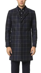 Theory Lowell Gerridge Overcoat Eclipse Multi