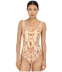 Vivienne Westwood Propaganda Swimsuit Terracotta Women's Swimsuits One Piece Orange