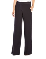 Bcbgmaxazria Daniel Wide Leg Pants Black