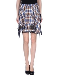 Atelier Fixdesign Mini Skirts Brown