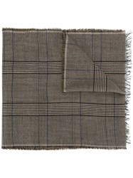 Lanvin Woven Scarf Brown