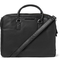 Marc By Marc Jacobs Grained Leather Briefcase Black
