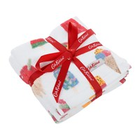 Cath Kidston Ice Cream Face Cloth Set Of 3