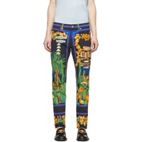 Versace Multicolor Palm Springs Jeans