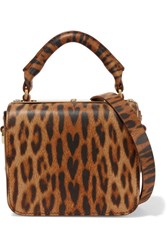 Sophie Hulme Finsbury Small Leopard Print Leather Shoulder Bag Leopard Print