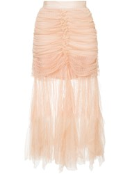 Alice Mccall Just Can't Help It Skirt Nude And Neutrals