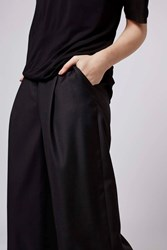 Classic Wide Trousers By Boutique Black